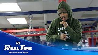 Shakur Stevenson Begins Final Preparations | REAL TIME EP. 1