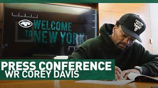 Corey Davis Full Press Conference (3/23) | The New York Jets | NFL