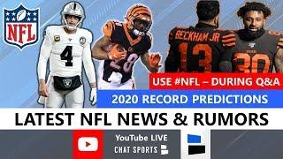 NFL Daily: Live News & Rumors With Tom Downey & Mitchell Renz (Aug. 5)