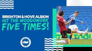 Brighton & Hove Albion Hit the Woodwork FIVE Times Against Manchester United