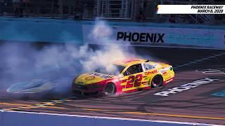 Where there's smoke, there's Joey Logano's burnouts | NASCAR