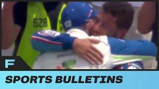Bubba Wallace Moved To Tears After ENTIRE NASCAR Crew Shows Him Love During Monday's Race