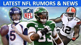 NFL Rumors & News: Jamal Adams Trade? Josh Gordon Reinstatement? + Joe Flacco Signs With The Jets