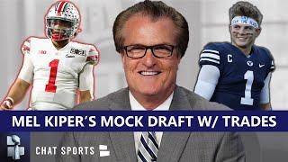 Mel Kiper 2021 NFL Mock Draft With Trades: Reacting To Every Trade & All 32 Round 1 Selections