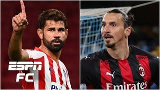 Could Diego Costa join Zlatan Ibrahimovic at AC Milan? | ESPN FC Extra Time