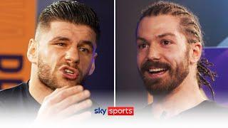 HEATED EXCHANGE   Florian Marku & Rylan Charlton go head-to-head before their fight   Face-Off Show
