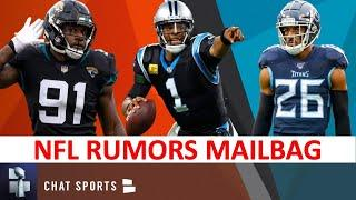 NFL Rumors: Free Agency Rumors On Cam Newton & Logan Ryan + Trade Rumors On Yannick Ngakoue I Q&A