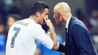 What Cristiano said to Zidane just before scoring a decisive goal in the UCL final | Oh My Goal