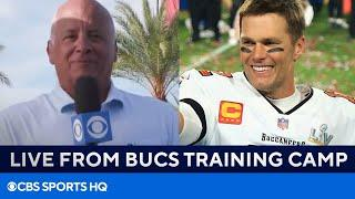 Tom Brady & Buccaneers' Chances to Repeat | Live from Bucs Training Camp | CBS Sports HQ