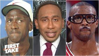 Stephen A. has a problem with Horace Grant's Michael Jordan 'snitch' comments | First Take