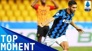 Achraf Hakimi Scores His First Inter Goal! | Benevento 2-5 Inter | Top Moment | Serie A TIM