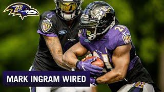 Mark Ingram Mic'd Up at Training Camp Is Gold | Ravens Wired