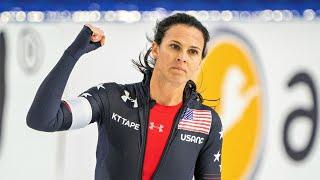 Brittany Bowe strikes again, hammers 1000m for second gold in Heerenveen World Cup | NBC Sports