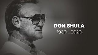 Legendary Miami Dolphins coach Don Shula dies at age 90
