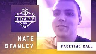 FaceTime Call With Minnesota Vikings Seventh Round NFL Draft Pick Nate Stanley