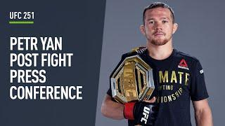 Petr Yan becomes Russia's newest UFC champion after stopping Jose Aldo at UFC 251!