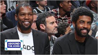 I don't believe Kevin Durant will return without Kyrie Irving - Frank Isola | Around the Horn