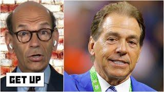 'Time is running out on Nick Saban' to win another championship at Alabama - Paul Finebaum | Get Up