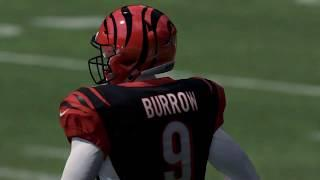 Madden First Look: Joe Burrow on the Cincinnati Bengals