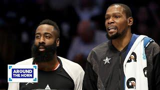 Will James Harden, Kevin Durant and Kyrie Irving coexist on the Nets? | Around the Horn