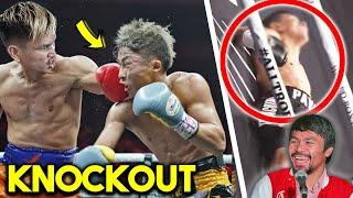 WHY CASIMERO K.O INOUE NAOYA- FIGHT HIGHLIGHTS (SUSPECT CHIN, WEAK DEFENCE, EASILY COUNTERED)
