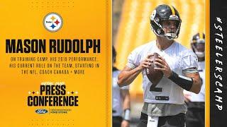 Steelers Virtual Camp Press Conference (Aug. 22): Mason Rudolph | 2020 Training Camp