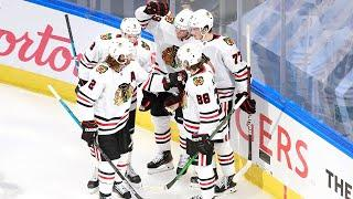 Blackhawks Hang Four Goals on Oilers in First Period