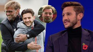 """What a person, what a guy!"" Adam Lallana reacts to personal message from Jürgen Klopp"