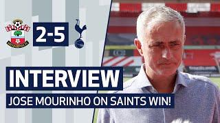 INTERVIEW | JOSE MOURINHO ON SAINTS WIN | Southampton 2-5 Spurs