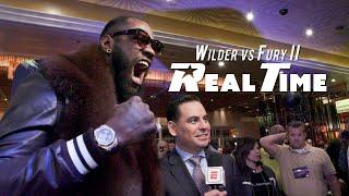 Behind the scenes with Wilder and Fury at the Grand Arrivals   Wilder vs Fury II: REAL TIME - Ep. 7