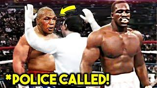 MIKE TYSON *CRAZY* REACTION TO KNOCKOUT LOSSES POST FIGHT (1990-2005)- Holyfield, Lewis Douglas