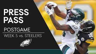 Eagles Players React to Loss to Steelers | Eagles Press Pass