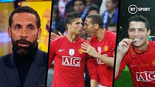 """""""He came as a kid and left as the best player in the world!"""" Ferdinand on Ronaldo impact at Man Utd"""