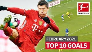 Top 10 Best Goals in February – Vote For The Goal Of The Month