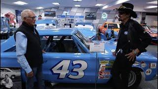 NASCAR Garage Tour: Richard Petty and Dale Inman at the Petty Museum