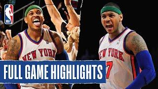Knicks Take The Win Behind Clutch Buckets from Melo!