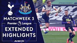 Tottenham v. Newcastle | PREMIER LEAGUE HIGHLIGHTS | 9/27/2020 | NBC Sports