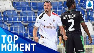 Ibra rolling back the years with a first-half brace | Sassuolo 1-2 Milan | Top Moment | Serie A TIM
