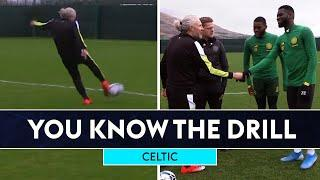 Jimmy Bullard & Damien Duff vs Celtic's Odsonne Edouard and Olivier Ntcham | You Know The Drill