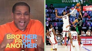 Where does Bam Adebayo's block on Tatum rank in NBA history? | Brother From Another | NBC Sports