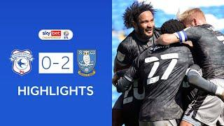 Cardiff City 0-2 Sheffield Wednesday | Highlights | 2020/21