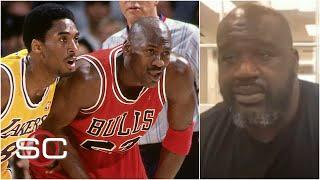 Shaq compares Michael Jordan's mentality to Kobe Bryant | SportsCenter with Stephen A.