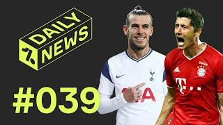 Bale to RETURN to Spurs + Bayern vs PSG UCL Final!  Daily News