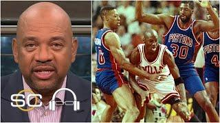 The Bulls beating the Pistons was bigger than beating the Lakers – Michael Wilbon | SC with SVP
