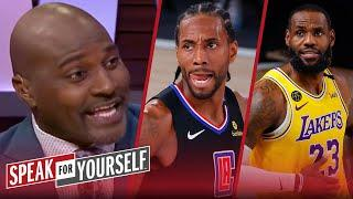 LeBron or Kawhi - Who's been more impressive? Acho & Wiley decide | NBA | SPEAK FOR YOURSELF