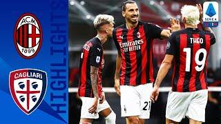 Milan 3-0 Cagliari | Zlatan Scores on Final Day Win for Milan | Serie A TIM