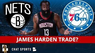 James Harden Trade Rumors: Nets & 76ers Discussing Blockbuster NBA Trade With Rockets