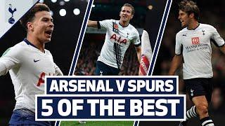 Dele, Berbatov, Bentley, Kane & Lennon | 5 OF OUR BEST GOALS AT THE EMIRATES | Arsenal v Spurs