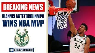 Giannis Antetokounmpo wins SECOND STRAIGHT NBA MVP | CBS Sports HQ
