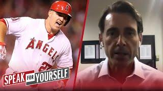 Dodgers sign Mookie Betts, talks Mike Trout's importance — Tom Verducci   MLB   SPEAK FOR YOURSELF